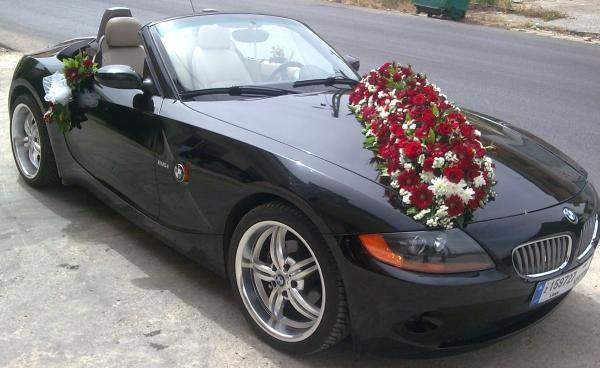 esküvői autóbérlés BMW Áporka