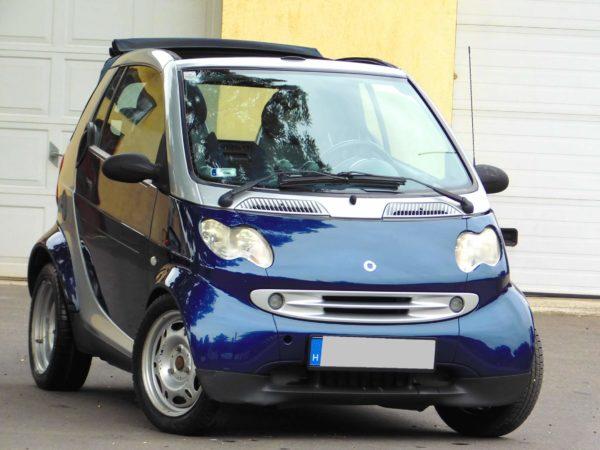 Smart Cabrio bérlés 4000 Ft/nap (havi bérlés esetén) 1