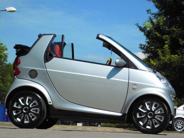 Smart Cabrio bérlés 4000 Ft/nap (havi bérlés esetén) 3
