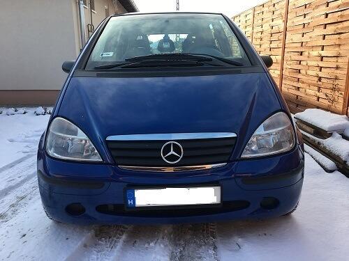 Mercedes Benz A osztály bérlés