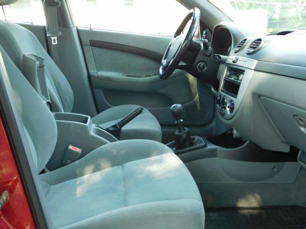 Chevrolet Lacetti 1.4 16v Star AC klímás autó bérlés Budapest 5500 Ft/nap (havi bérlés esetén) 11