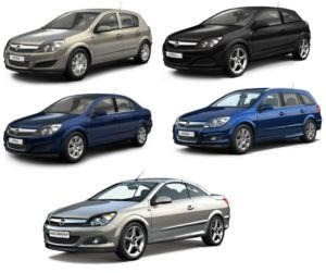 Opel Astra H bérlés